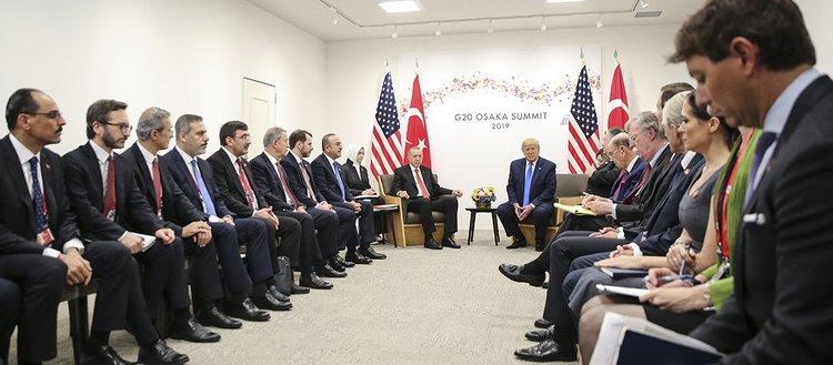 Cumhurbaşkanı Erdoğan'ın G20 Zirvesi'ndeki yoğun mesaisi