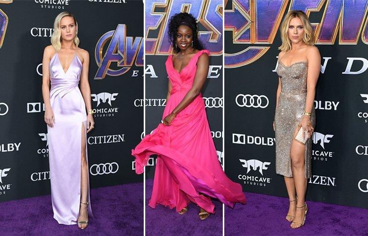 Avengers: Endgame galasında şıklık yarışı
