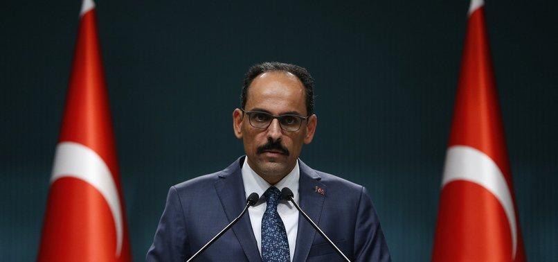 TURKEY CALLS TO STOP ISLAMOPHOBIC FASCIST TERRORISM