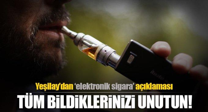 Elektronik sigara kansere neden oluyor!