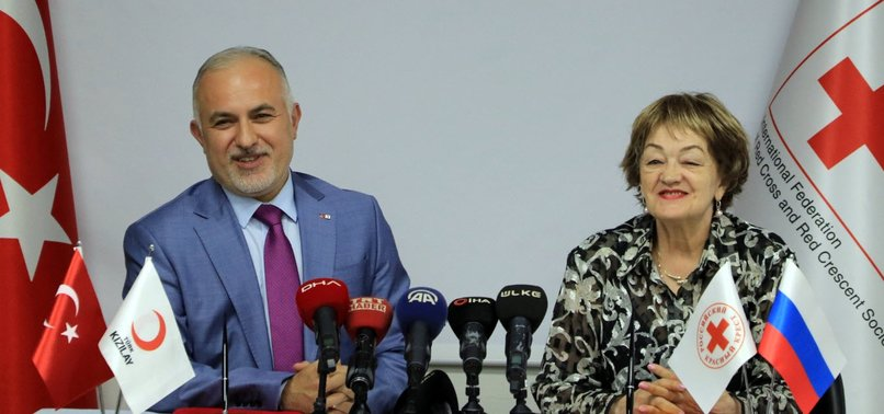 TURKISH, RUSSIAN AID GROUPS SIGN COOPERATION DEAL
