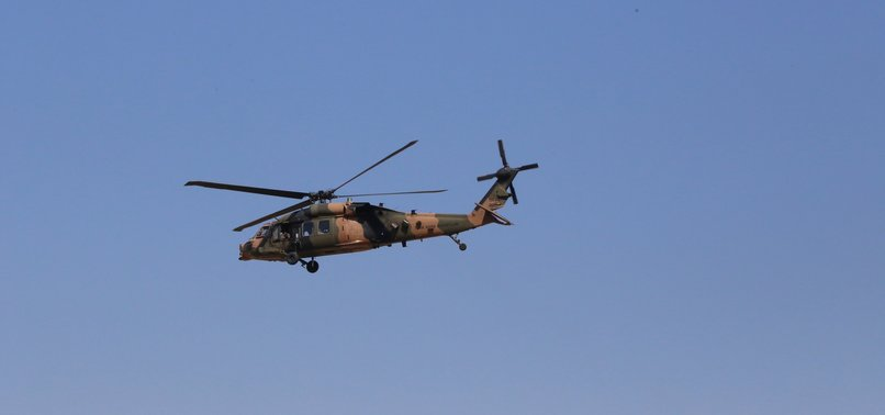 TURKEY, US HOLD 6TH JOINT HELICOPTER FLIGHT OVER SYRIA