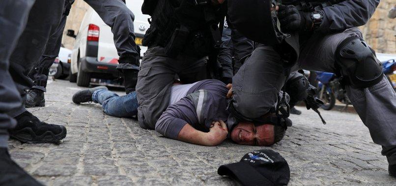 ISRAEL ARRESTS 14 PALESTINIANS IN WEST BANK RAIDS