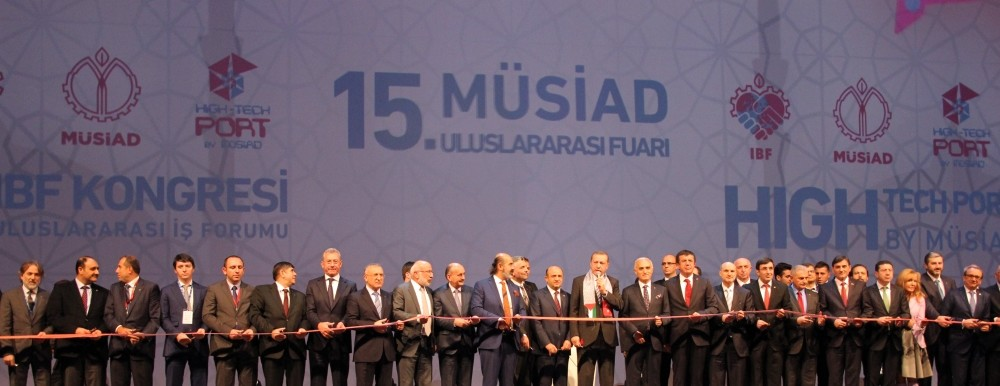 The opening ceremony of the 15th Mu00dcSu0130AD Expo, which was attended by President Recep Tayyip Erdou011fan, was held in Istanbul in 2014. Mu00dcSu0130AD prepares to open the 16th Mu00dcSu0130AD Expo tomorrow.
