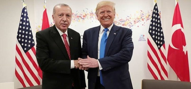 TRUMP PRAISES TURKEYS EFFORTS TO PREVENT HUMANITARIAN DISASTER IN SYRIAS IDLIB