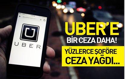 Trafik Şube UBER'e işlem başlattı