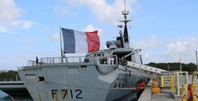 France suspends role in NATO naval operation