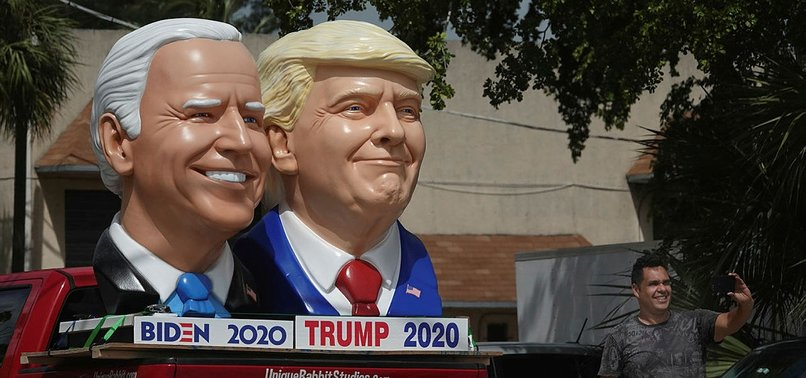 TRUMP, BIDEN COULD FEUD OR MAKE PEACE AT 9/11 EVENT