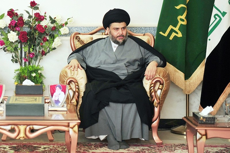 In this file photo dated Nov 23, 2012, Sadr gives an exclusive interview for Sabah newspaper. (Photo: Sabah / u0130lhami Yu0131ldu0131ru0131m)