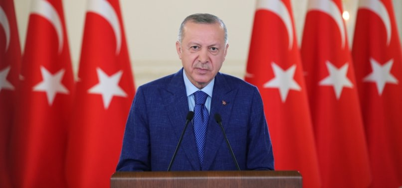 MEETING WITH MACRON AT NATO SUMMIT HAS OPPORTUNITY TO DISCUSS ALL ASPECTS OF RELATIONS: ERDOĞAN