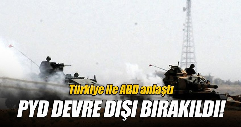 Türkiye ABD ile anlaştı!