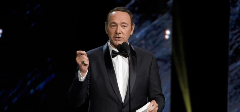 KEVIN SPACEY CHARGED WITH SEXUAL ASSAULT OF TEENAGER