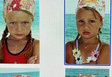 Bella ve Gigi Hadidin Çocukluk Fotoğrafları Tahmin Edilemeyecek Kadar Sevimli