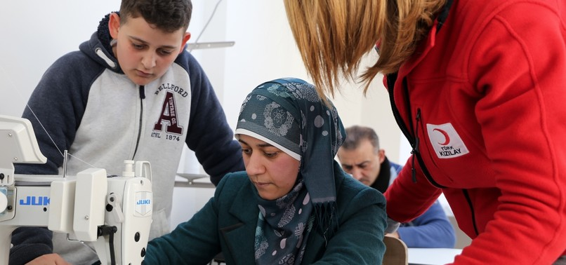 VOCATIONAL TRAINING BY TURKISH RED CRESCENT REDUCES MIGRANT DEATHS IN THE AEGEAN