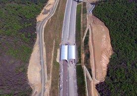 Türkiye'nin ilk yaban hayatı köprüsü tamamlanıyor