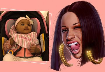 Cardi B kızının ilk doğum günü için 400 bin dolar harcadı