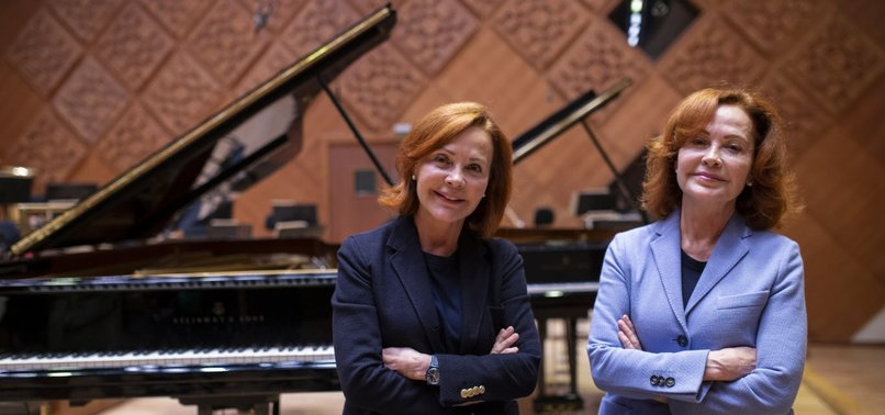 RENOWNED TWIN PIANISTS TEACH YOUNG TURKISH MUSICIANS