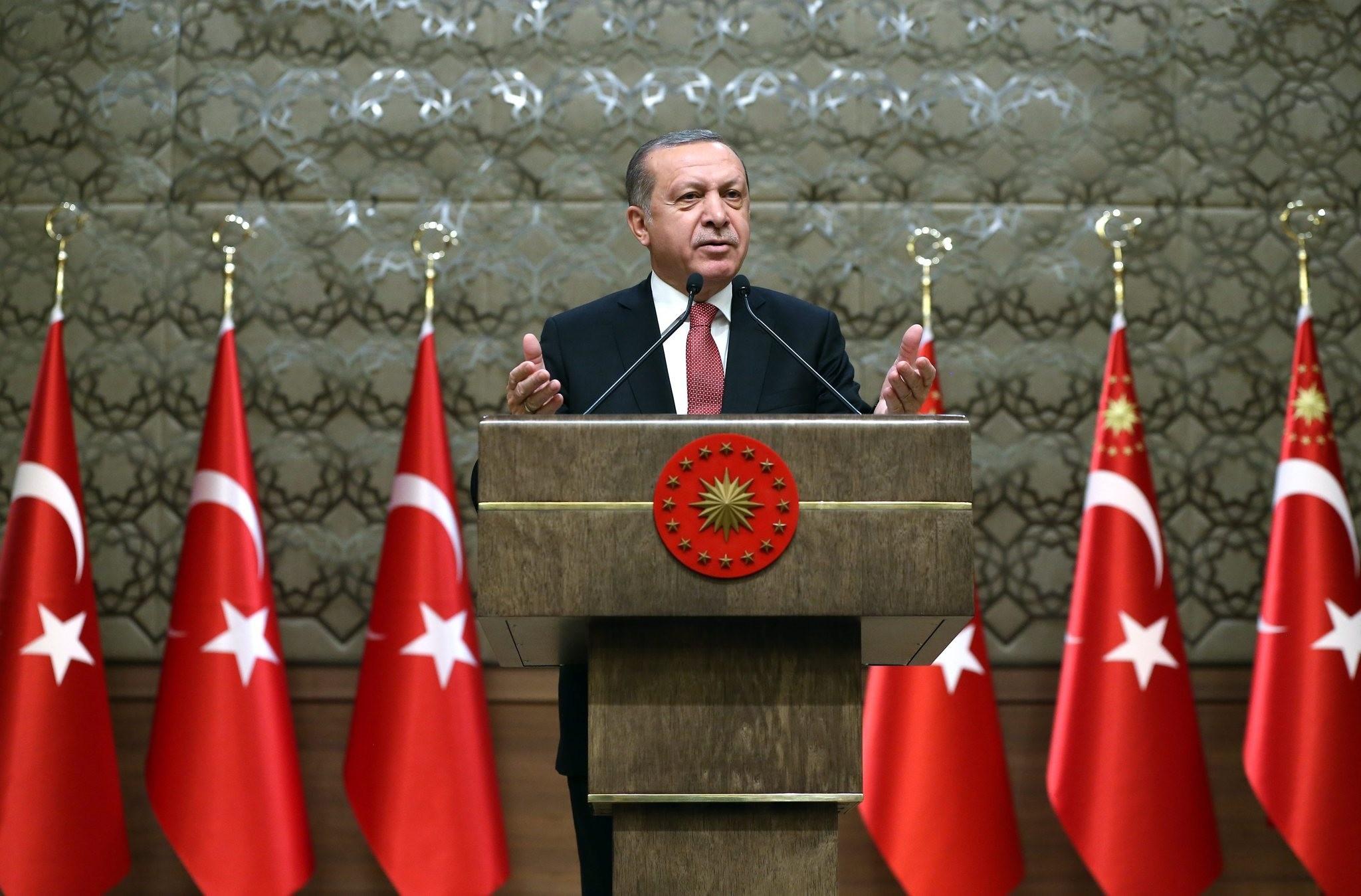 Source: Turkish President Press Office