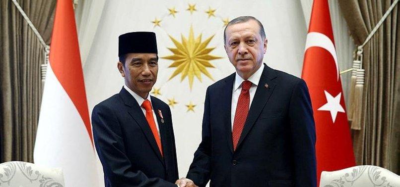 TURKISH, INDONESIAN LEADERS EXCHANGE HOLIDAY GREETINGS