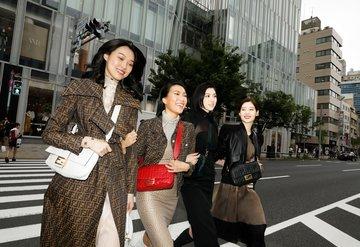 Fendi Baguette Tokyo sokaklarında!