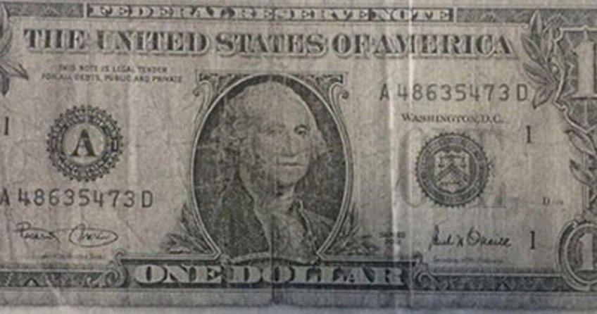 Bu da cevşenli bir dolar