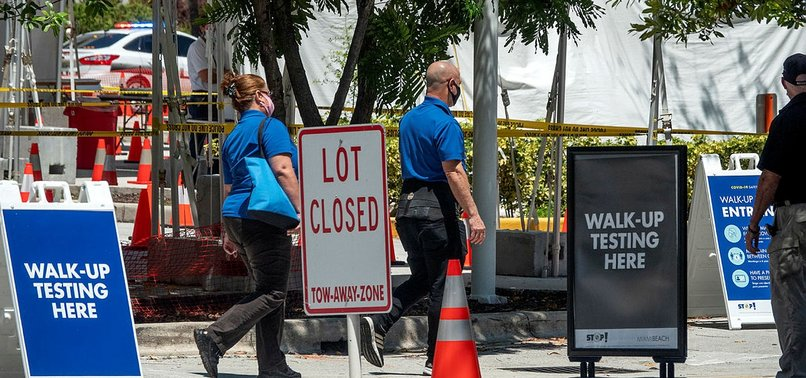 FLORIDA REPORTS 5,800 VIRUS CASES, 276 DEATHS