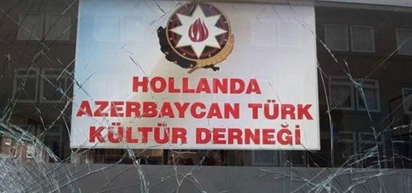 TURKISH CULTURE BODY'S BUILDING IN NETHERLANDS ATTACKED BY PYD/PKK SYMPATHIZERS