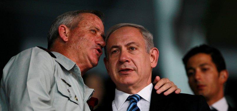 BENNY GANTZ REJECTS NETANYAHUS OFFER OF ISRAELI UNITY GOVERNMENT