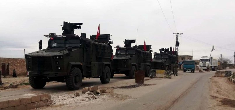 TURKEY, RUSSIA CONDUCT FIRST PATROL IN SYRIAS TAL RIFAT
