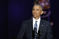 Obama urges Americans to protect democracy in farewell speech
