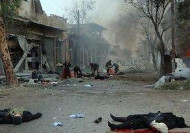Halep'te korkunç gelişme! yüzlerce çocuk mahsur kaldı