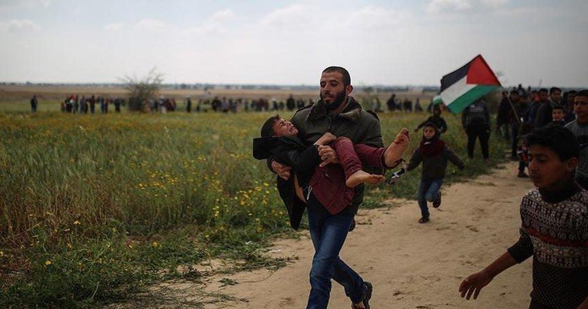 Gazze'de katliam!