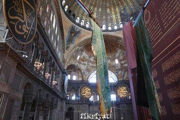 Ayasofya-i Kebir Camii'nin ilk Cuma'sında tarihe geçen fotoğraflar