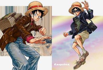 'One Piece'in yaratıcısı Eiichiro Oda Gucci için Bir Katalog Çizdi
