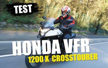 TEST · HONDA VFR 1200 X CROSSTOURER