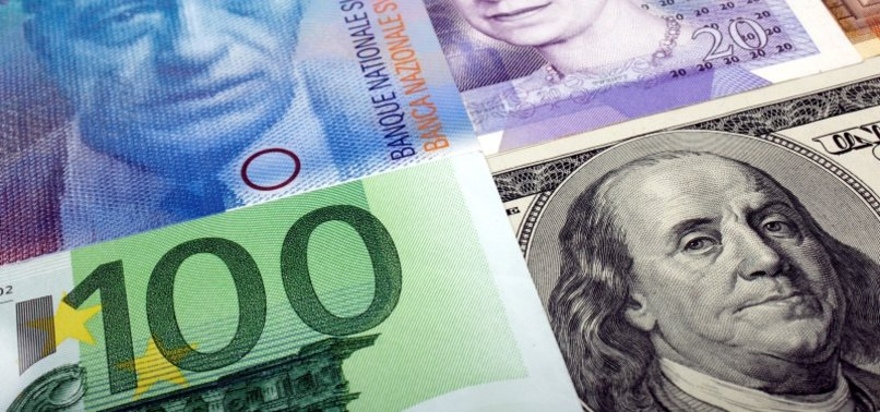 STERLING FALLS AS DOLLAR STRENGTHENS; SHORT POSITIONS INCREASE