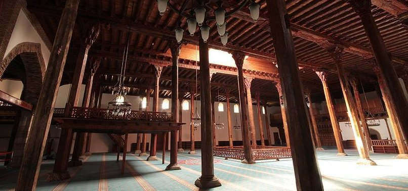 WOODEN-FEATURED MOSQUES DISPLAY TURKISH-ISLAMIC DESIGN