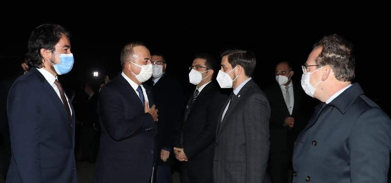 TURKEYS FOREIGN MINISTER ARRIVES IN PAKISTAN