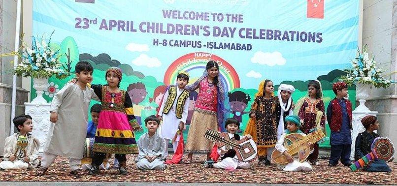 TURKEY'S CHILDRENS DAY CELEBRATED IN PAKISTAN