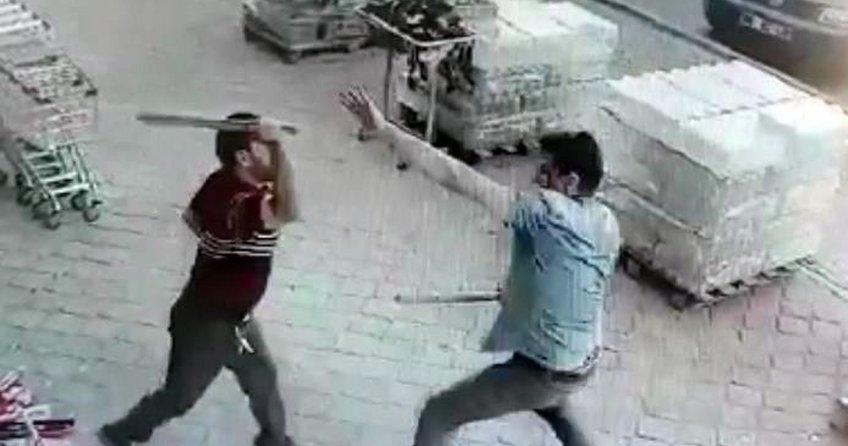 Aksaray'da komşular arasında sopalı-baltalı kavga