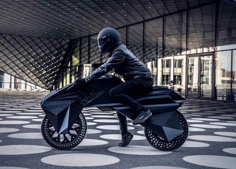 3D MOTOSİKLET