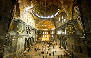 Istanbul's iconic Hagia Sophia to open its doors to visitors outside Muslim prayers