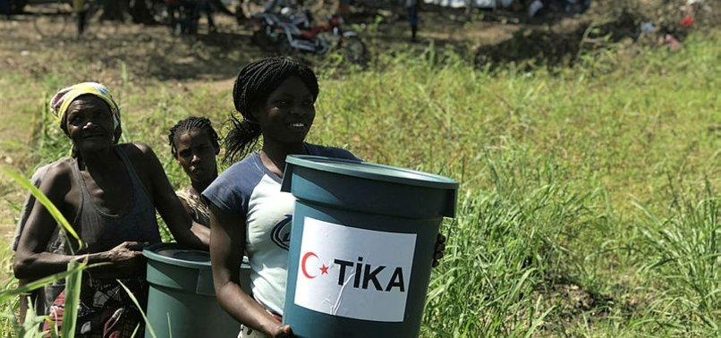 TURKISH AGENCY EXTENDS HELPING HAND TO MOZAMBIQUE