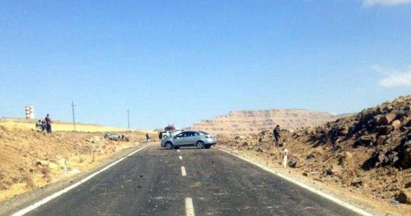 Mardin Derik'te patlama: 2 Şehit 8 yaralı