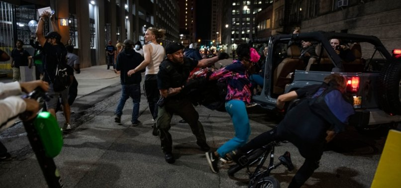 POLICE: 1 DEAD AFTER SHOTS FIRED INTO CAR AT DETROIT PROTEST
