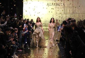 Ayşe Hatun Önal, Victoria's Secret meleği ile podyuma çıktı