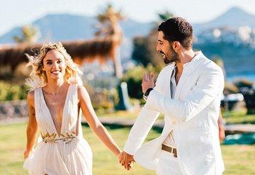 Plaj partisi gibi düğün