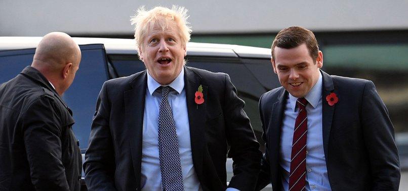 BRITISH MINISTER QUITS OVER JOHNSON AIDES LOCKDOWN BREACH