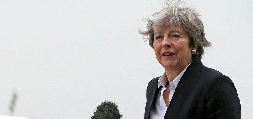 BRITAIN CALLS FOR MEANINGFUL DEBATE IN IRAN - PM MAYS SPOKESMAN