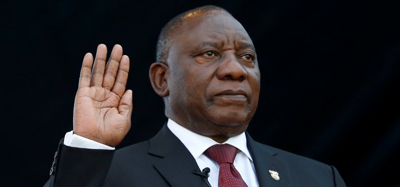 CYRIL RAMAPHOSA TAKES OATH AS SOUTH AFRICAS PRESIDENT